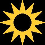 zon logo Praktijk Tesselaar Heiloo