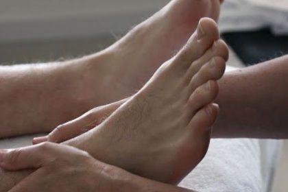 Voetmassage bij Praktijk Tesselaar Heiloo